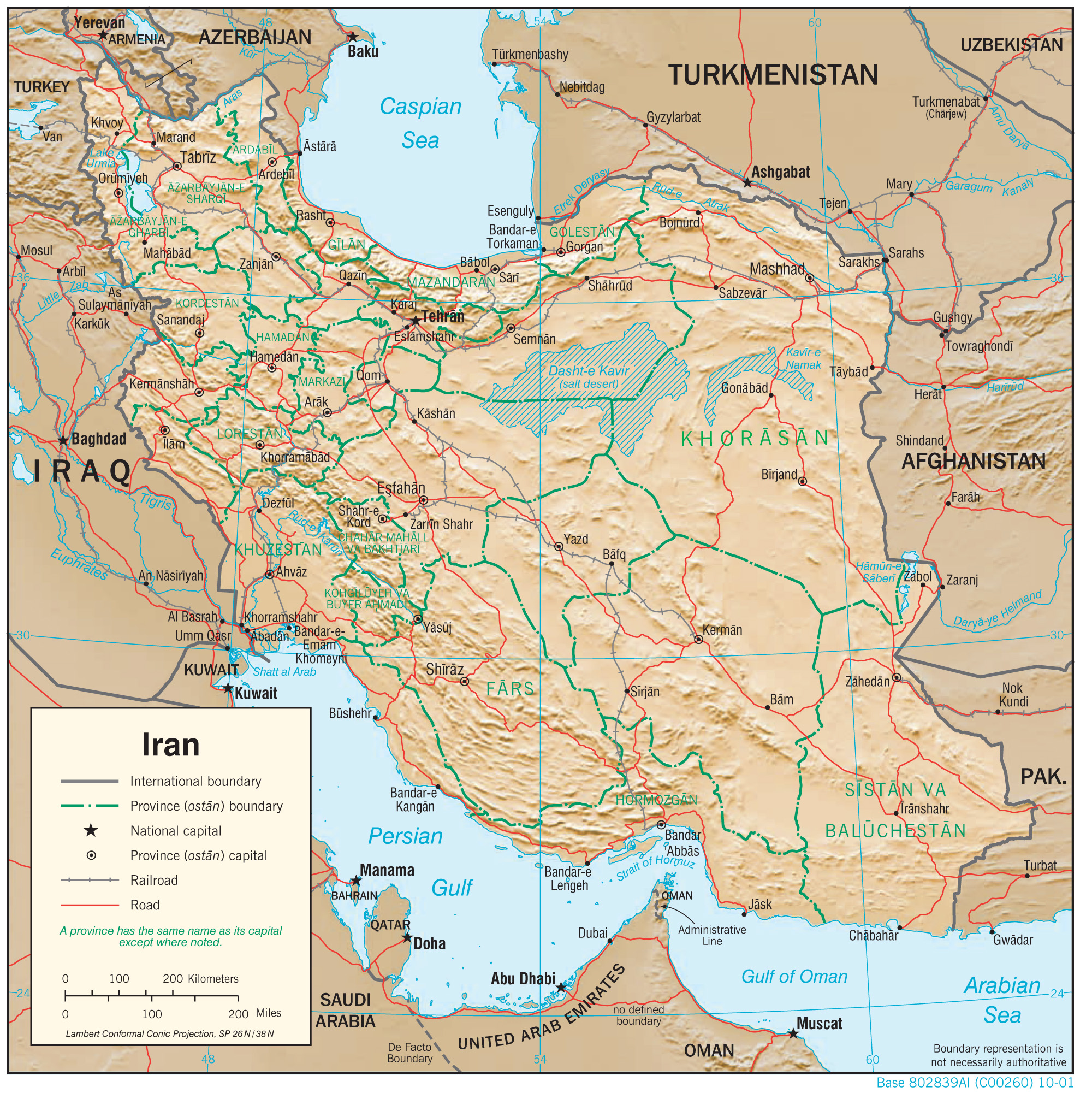 Map Of Iran Iran Maps   Perry Castañeda Map Collection   UT Library Online Map Of Iran