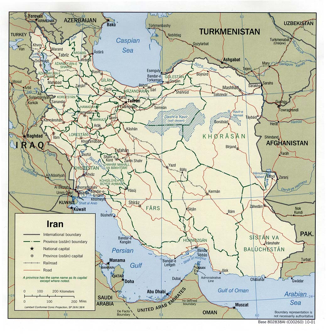 Maps of iran perry castaeda library map collection iran political gumiabroncs Choice Image