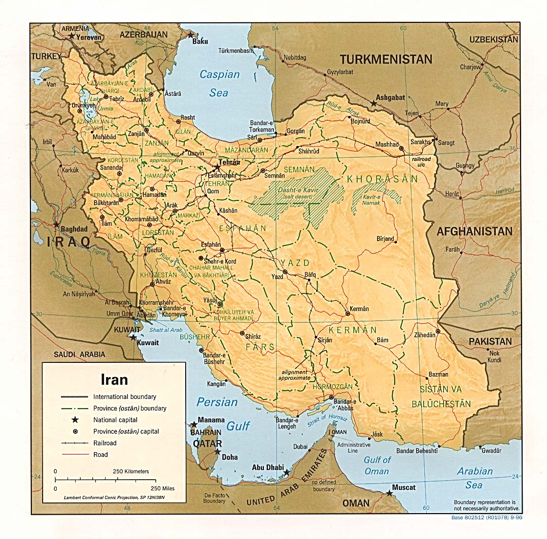 Iran maps perry castaeda map collection ut library online map collection gumiabroncs Choice Image