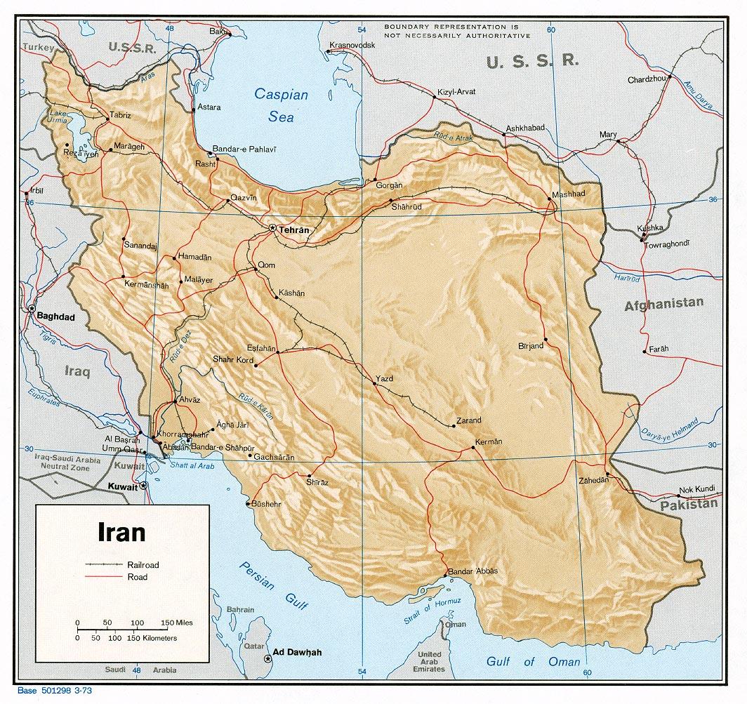 Iran Karte Deutsch.Liportal Iran Landesübersicht Naturraum Das