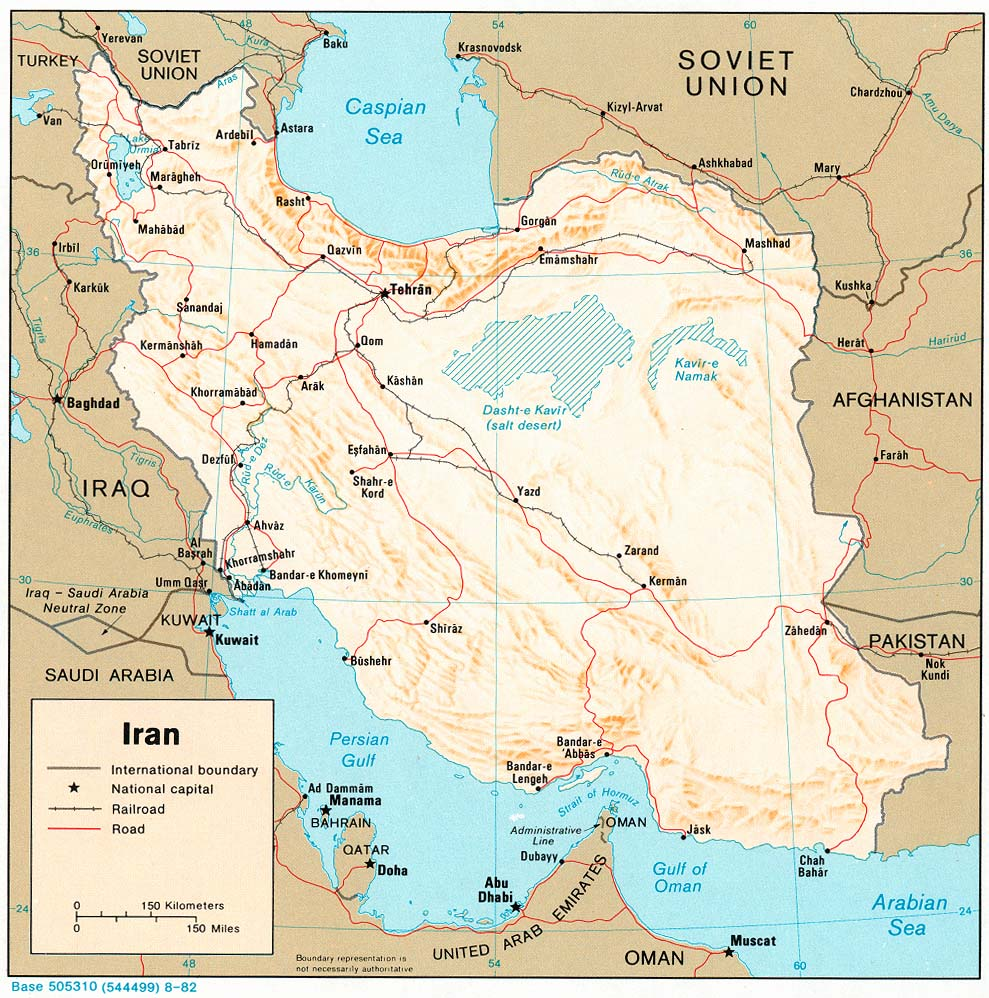 Iran maps perry castaeda map collection ut library online iran maps gumiabroncs Image collections