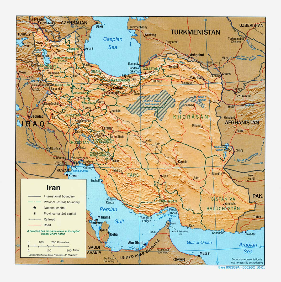 Iran maps perry castaeda map collection ut library online iran maps gumiabroncs Images