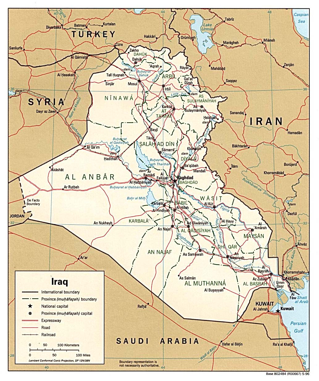iraq maps perry castaà eda map collection ut library online