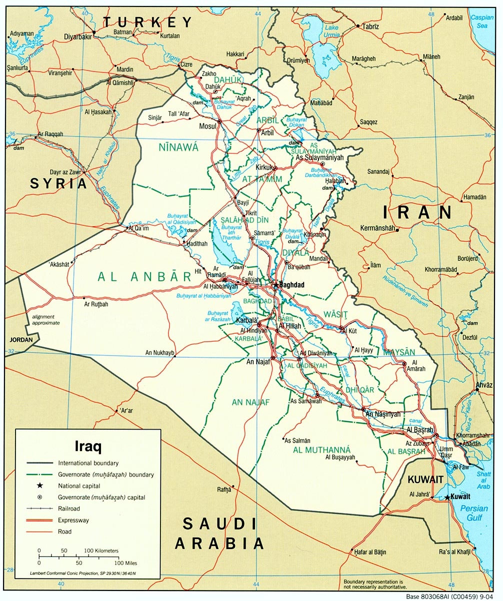 Iraq Maps PerryCastaeda Map Collection UT Library Online
