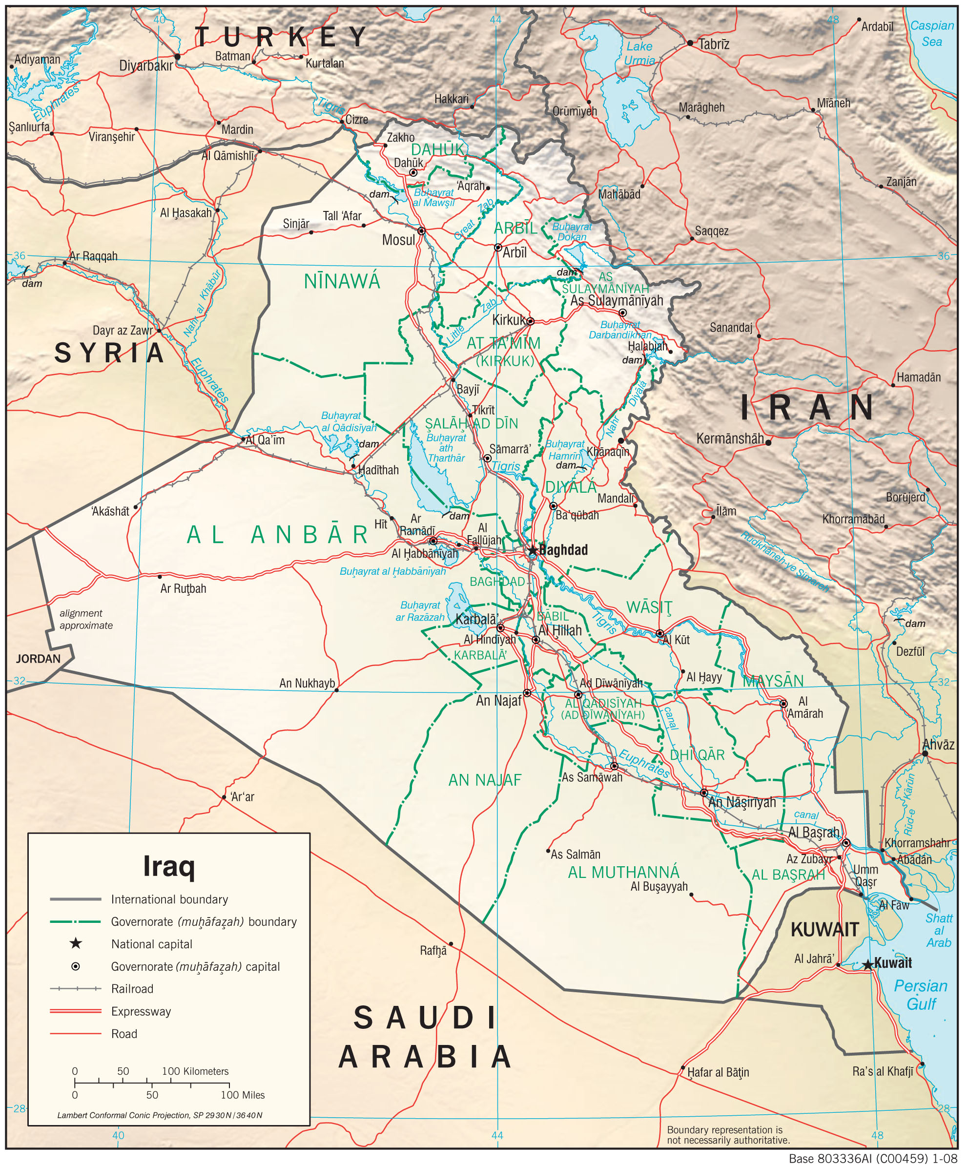 Iraq Maps PerryCastañeda Map Collection UT Library Online - Us time zone map pdf