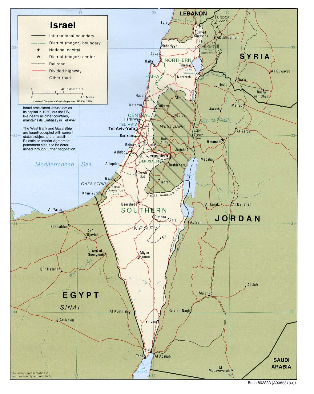 Israel Karte.Israel Maps Perry Castañeda Map Collection Ut Library Online