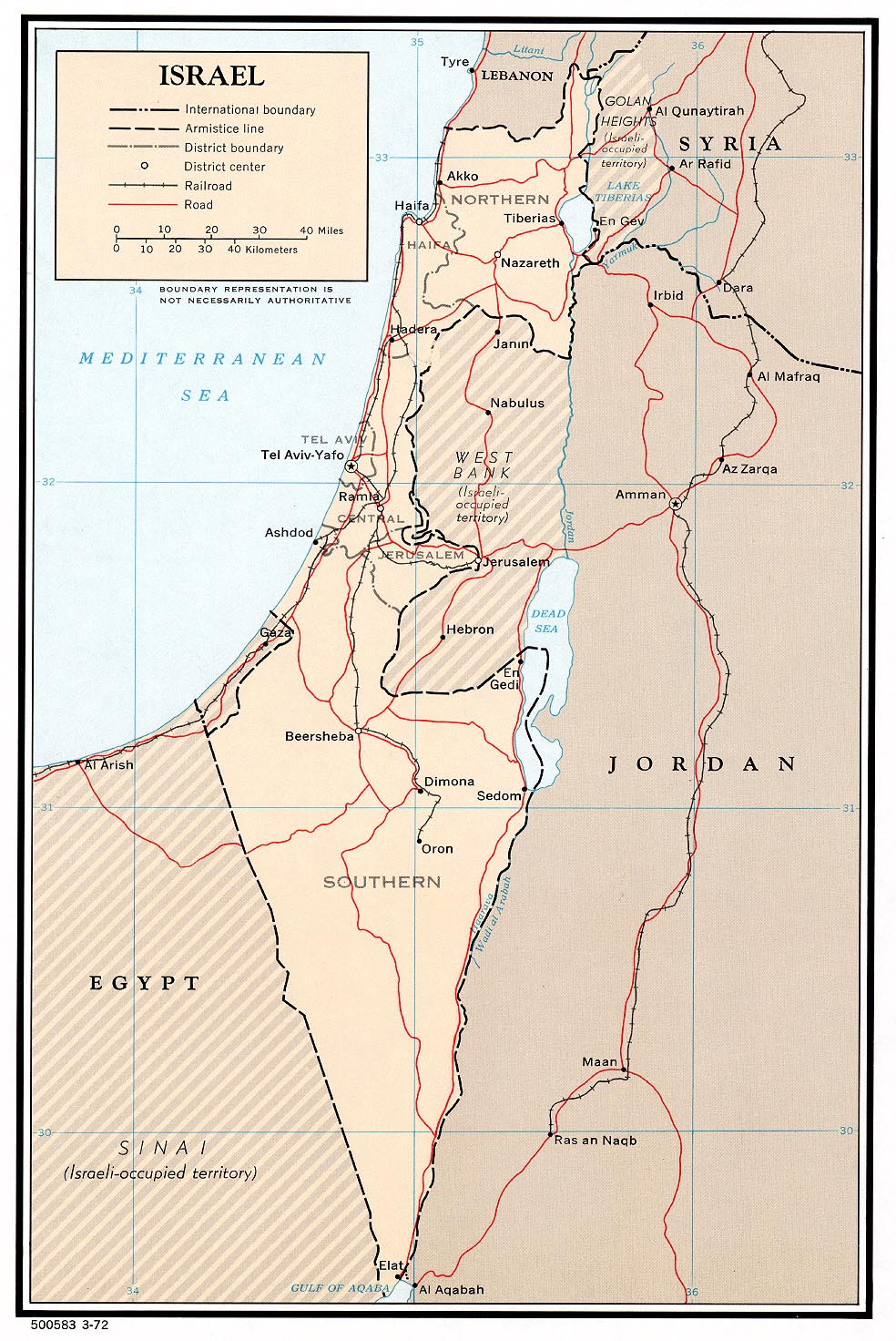 Israel Maps PerryCastañeda Map Collection UT Library Online - Mapa de israel