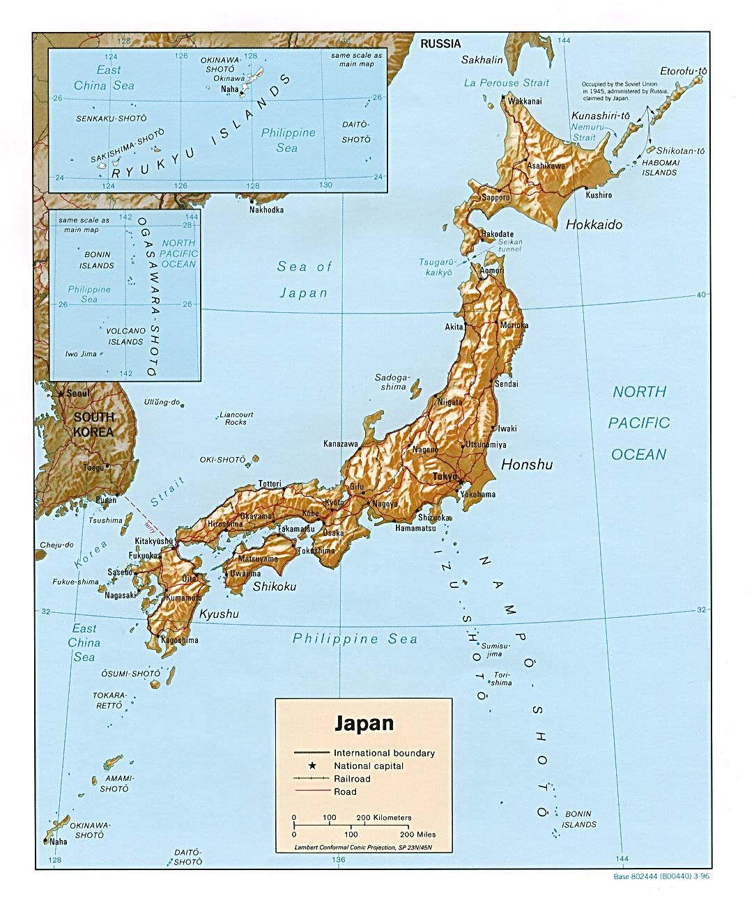 Japan Maps PerryCastaeda Map Collection UT Library Online