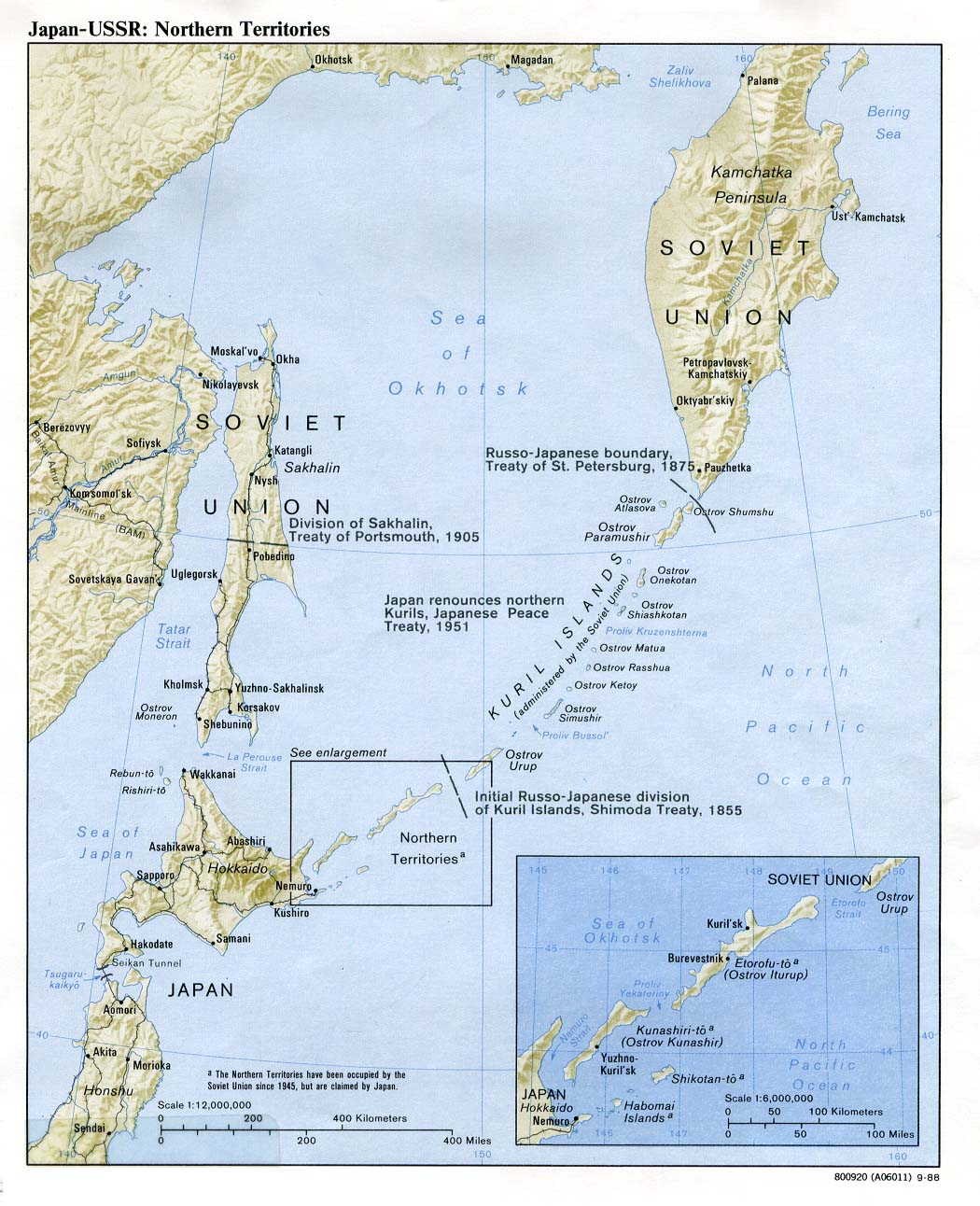 Japan Maps PerryCastañeda Map Collection UT Library Online - Japan map 4 main islands