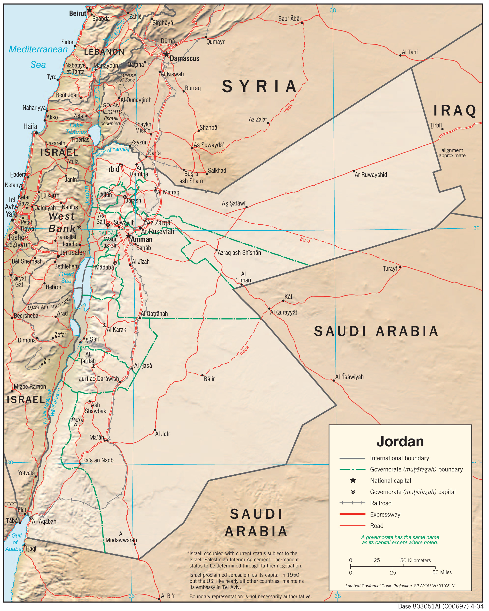 Jordan Maps - Perry-Castañeda Map Collection - UT Library Online