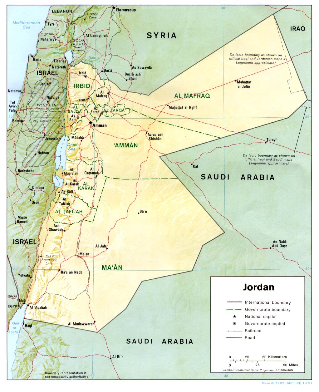 WWWVL History Index - Jordan map download