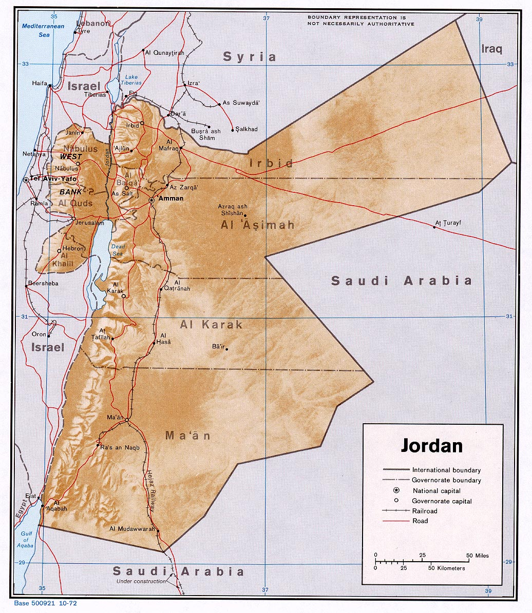 Jordan Maps PerryCastaeda Map Collection UT Library Online