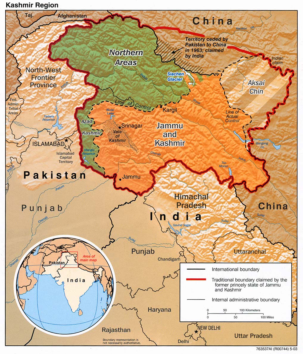 the history of the endless conflict between pakistan and india in the once beautiful land of kashmir Kashmir conflict india claims the  elections held in 2014 saw highest voters turnout in 26 years of history in jammu and kashmir  once pakistan moves .