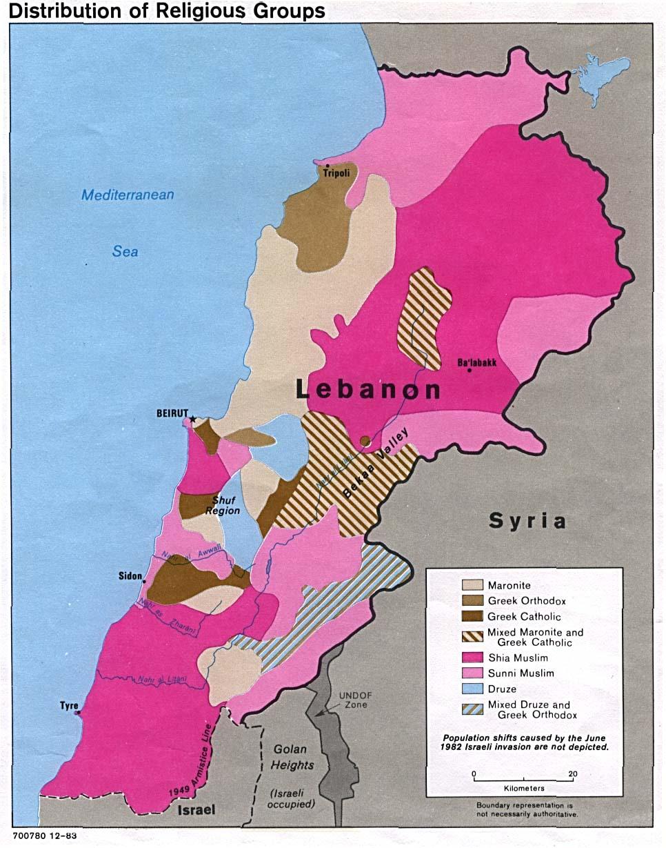lebanon history history of lebanon wwwvl history