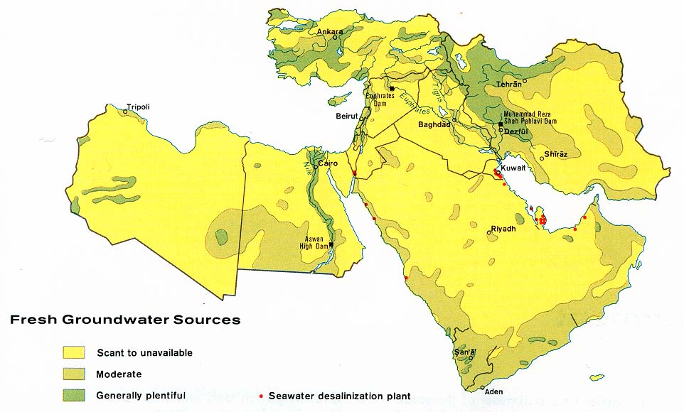 Scarce Natural Resources In The Middle East