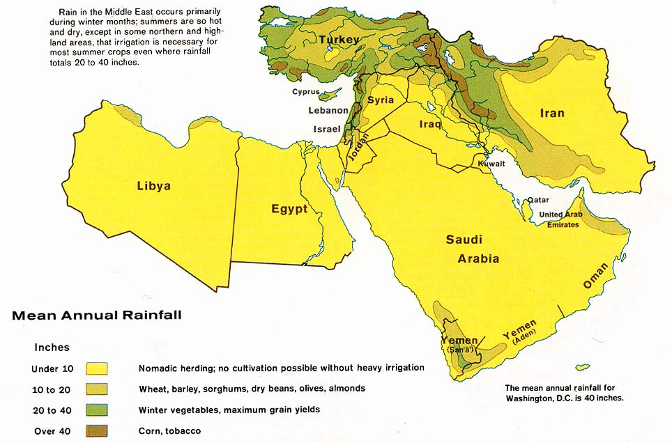 Middle East Maps PerryCastañeda Map Collection UT Library Online - Map of egypt and middle east