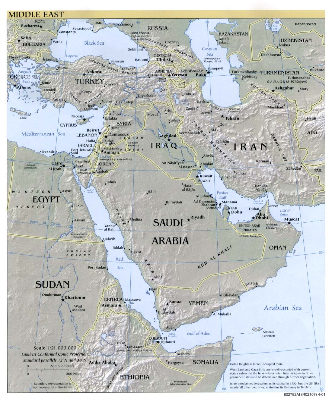 Global Connections . Mapping the Middle East | PBS on