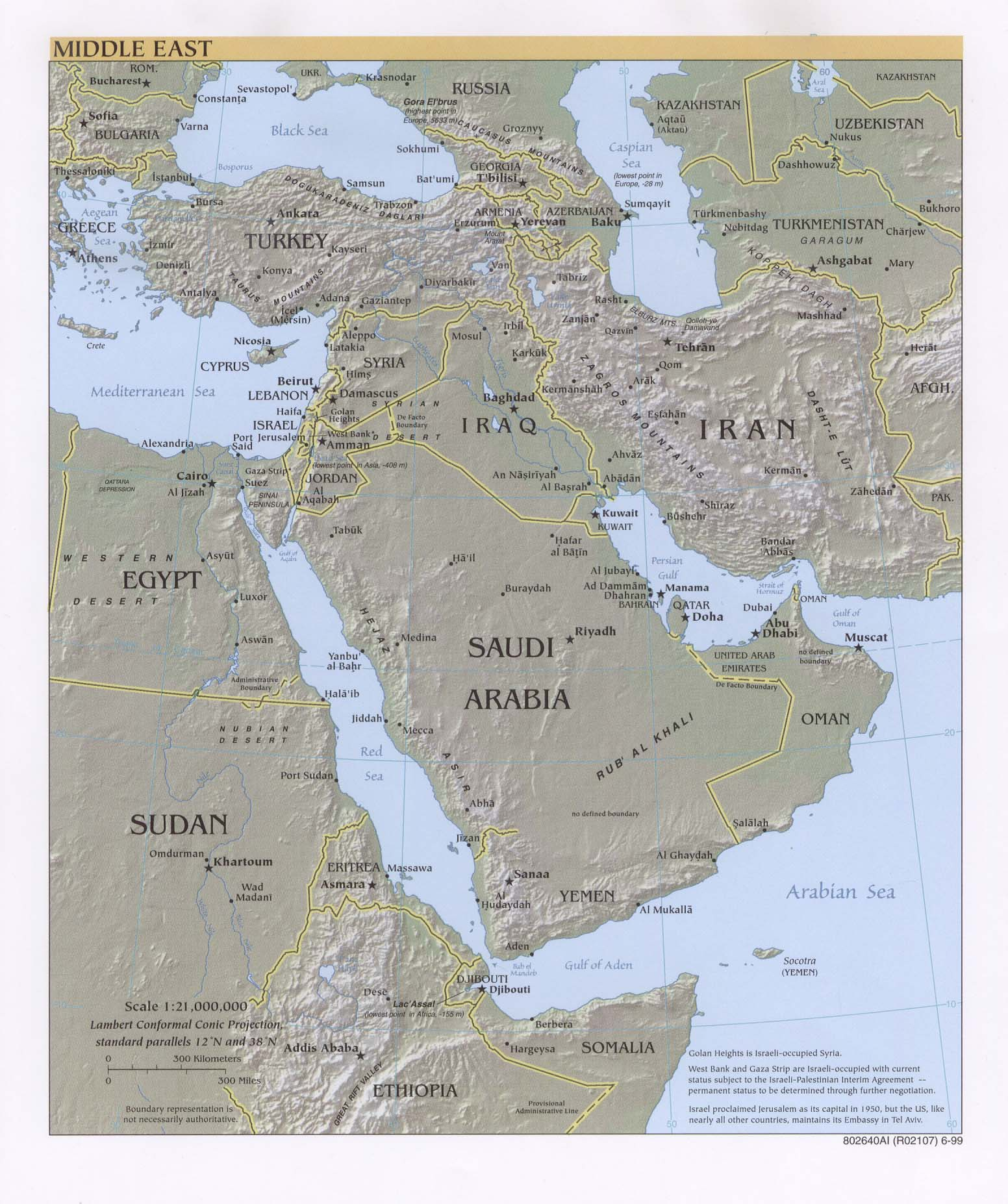 Middle East Maps - Perry-Castañeda Map Collection - UT Library Online