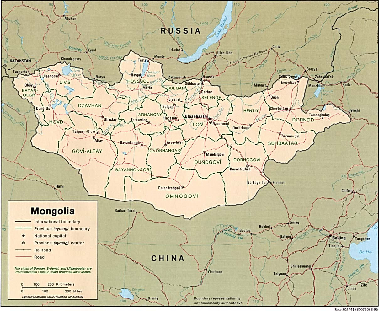 Mongolia General Information and Travel Information