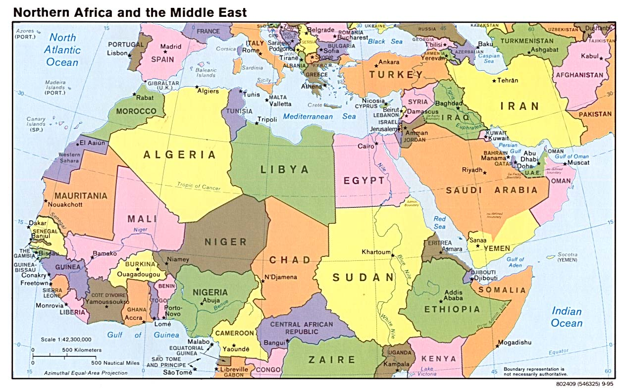 Middle east maps perry castaeda map collection ut library online gumiabroncs Gallery