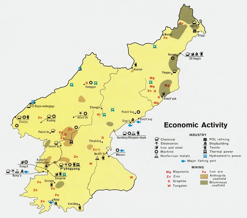 Korea north economic activity