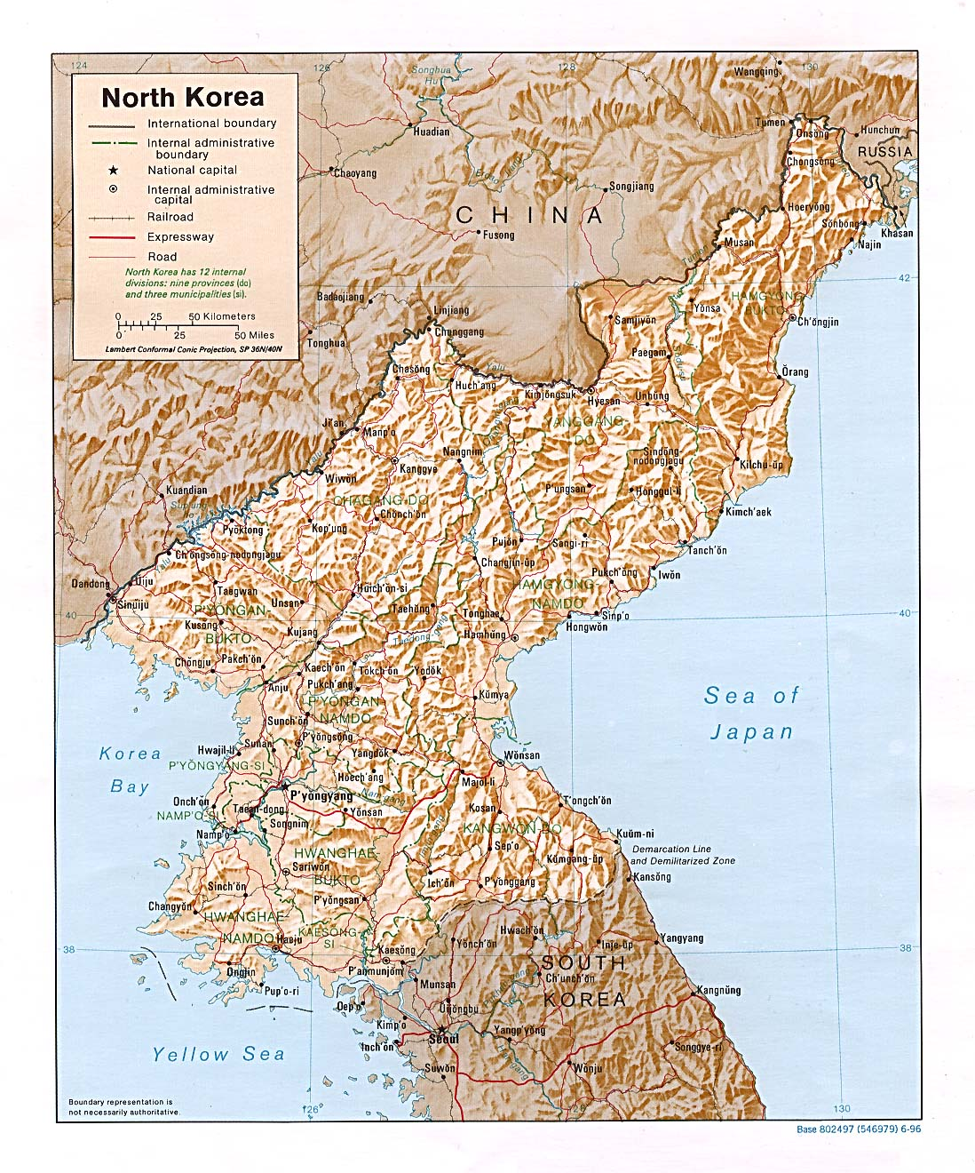 North Korea map & information - Find our Community