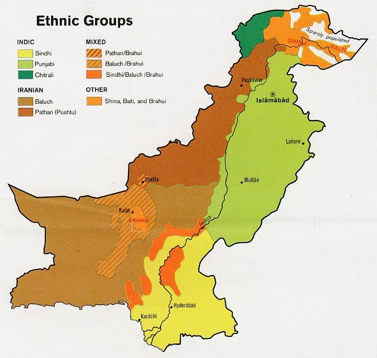 Pakistan - FIBIwiki  Pakistan State Map