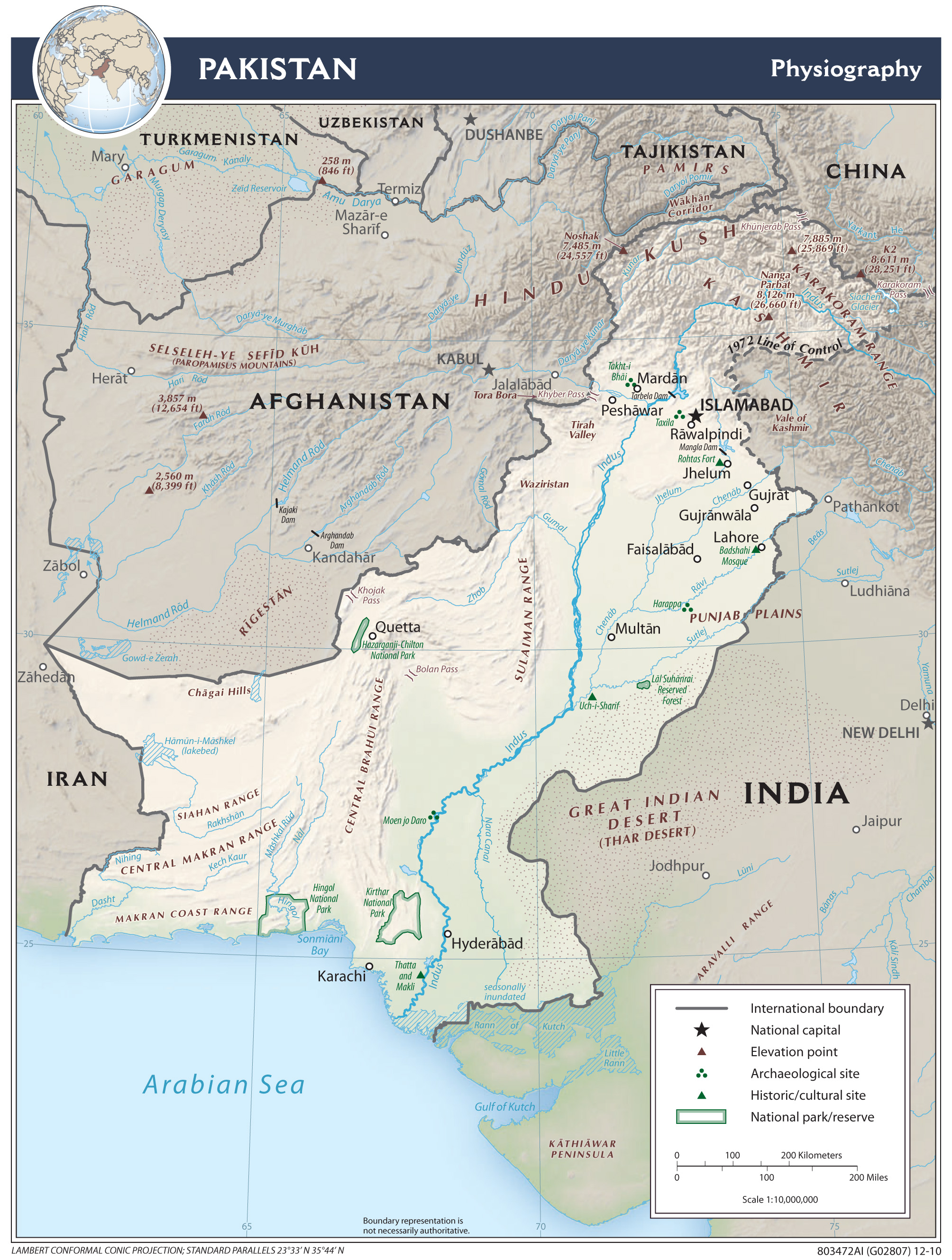 Pakistan maps perry castaeda map collection ut library online map collection gumiabroncs Image collections