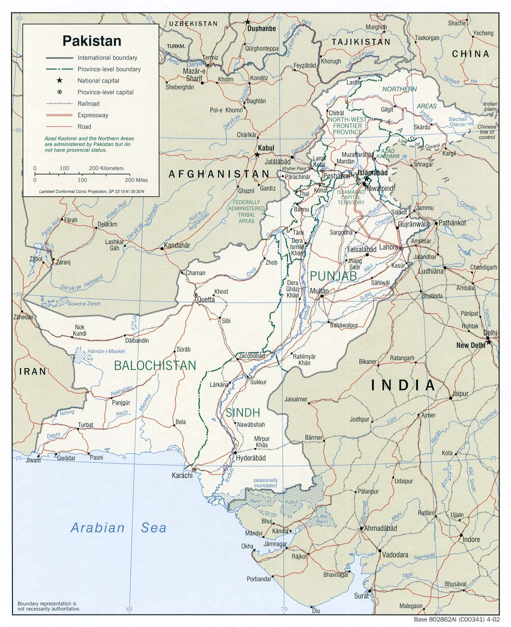 IndiaUS Relations In A Changing Strategic Environment - India and us on a map