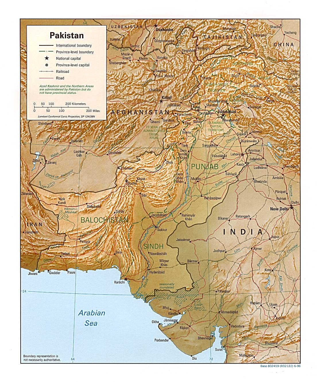 Pakistan Maps Perry Castaneda Map Collection Ut Library Online