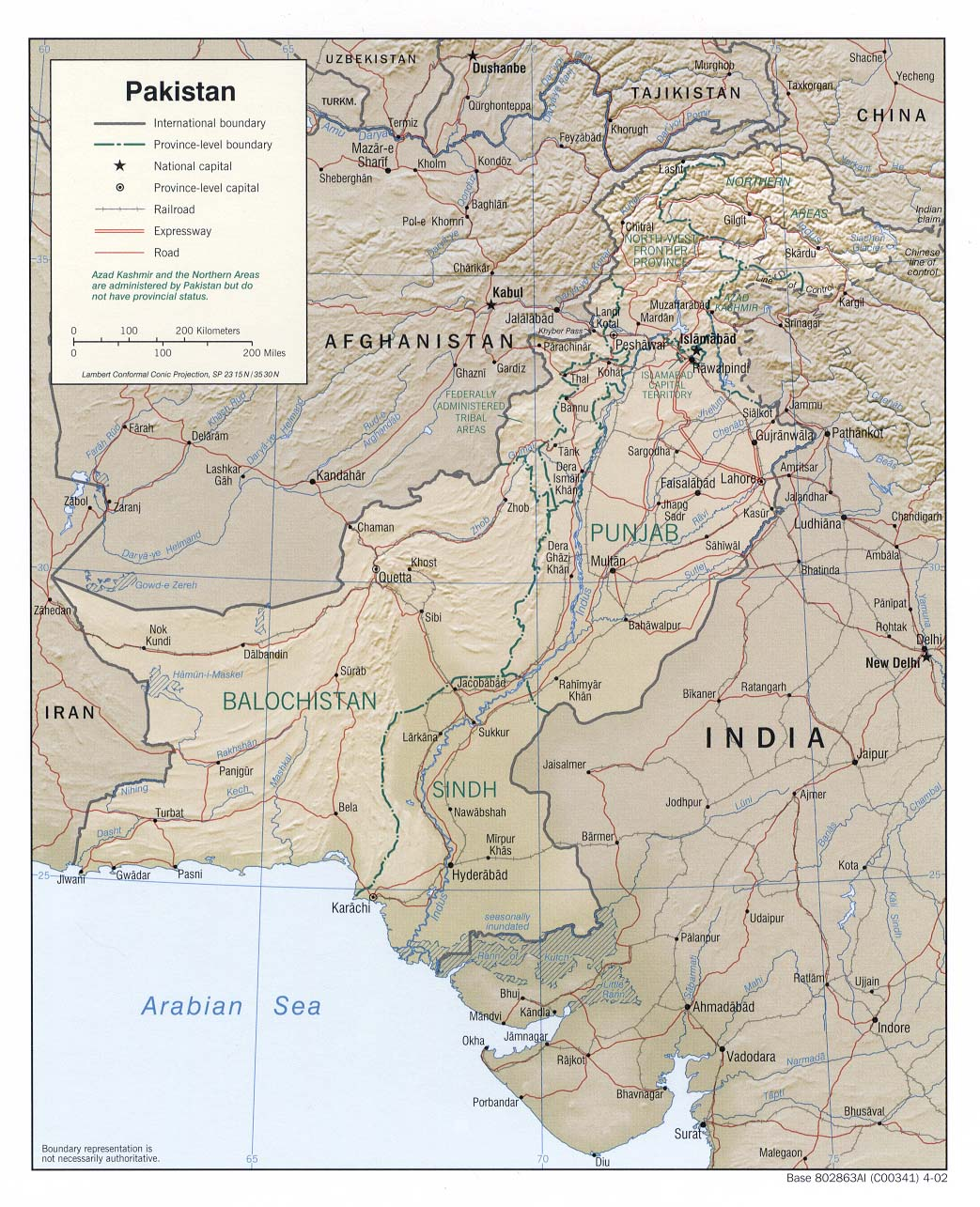 Pakistan Maps - Perry-Castañeda Map Collection - UT Library Online