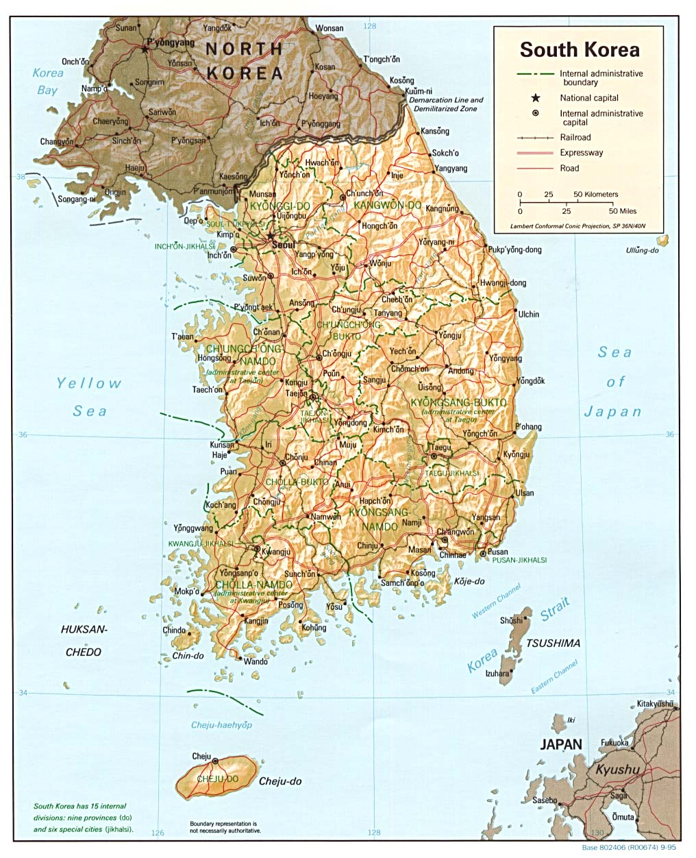 Korea Maps  PerryCastaeda Map Collection  UT Library Online