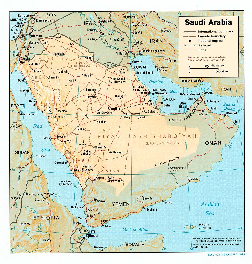 Saudi arabia maps perry castaeda map collection ut library online map collection gumiabroncs Gallery
