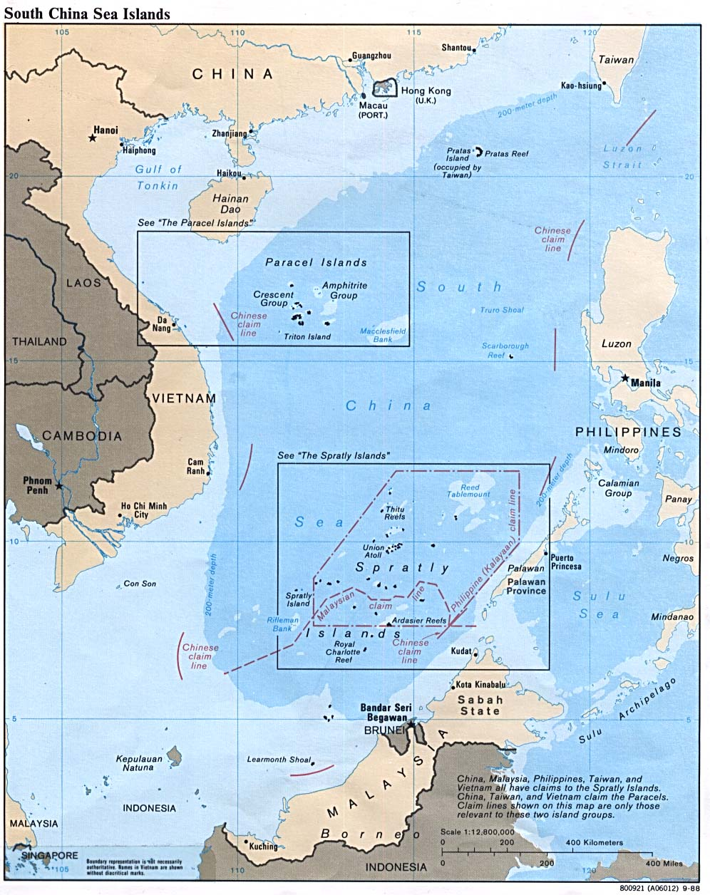 Vietnam maps perry castaeda map collection ut library online south china sea gumiabroncs Images