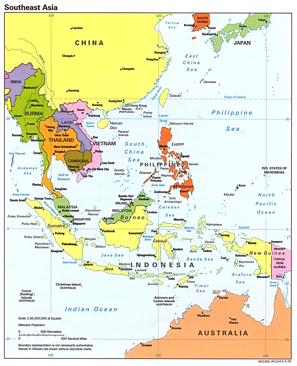 Asia Maps PerryCasta eda Map Collection UT Library Online – Southeast Asian Country Map