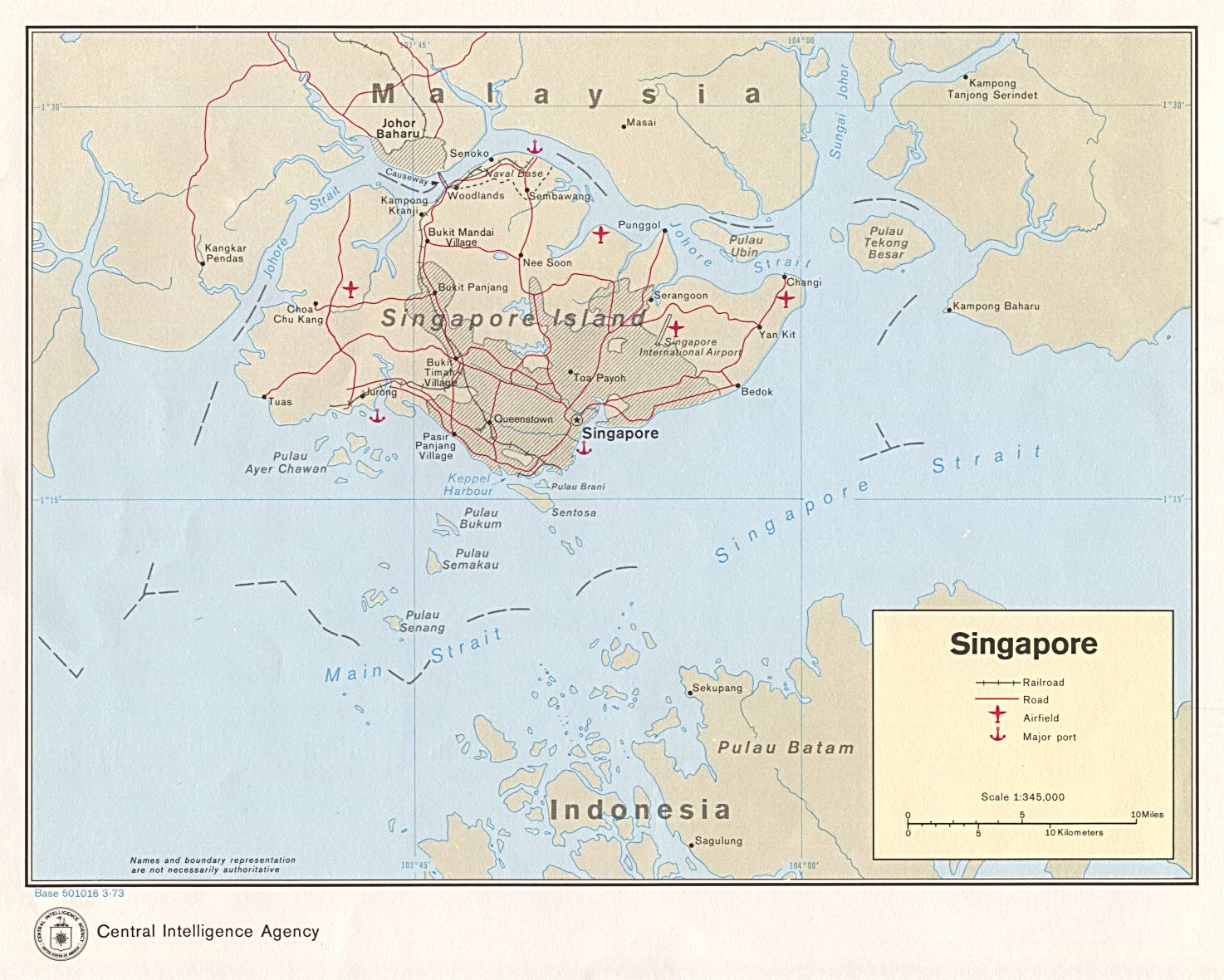 Singapore Maps PerryCastaeda Map Collection UT Library Online