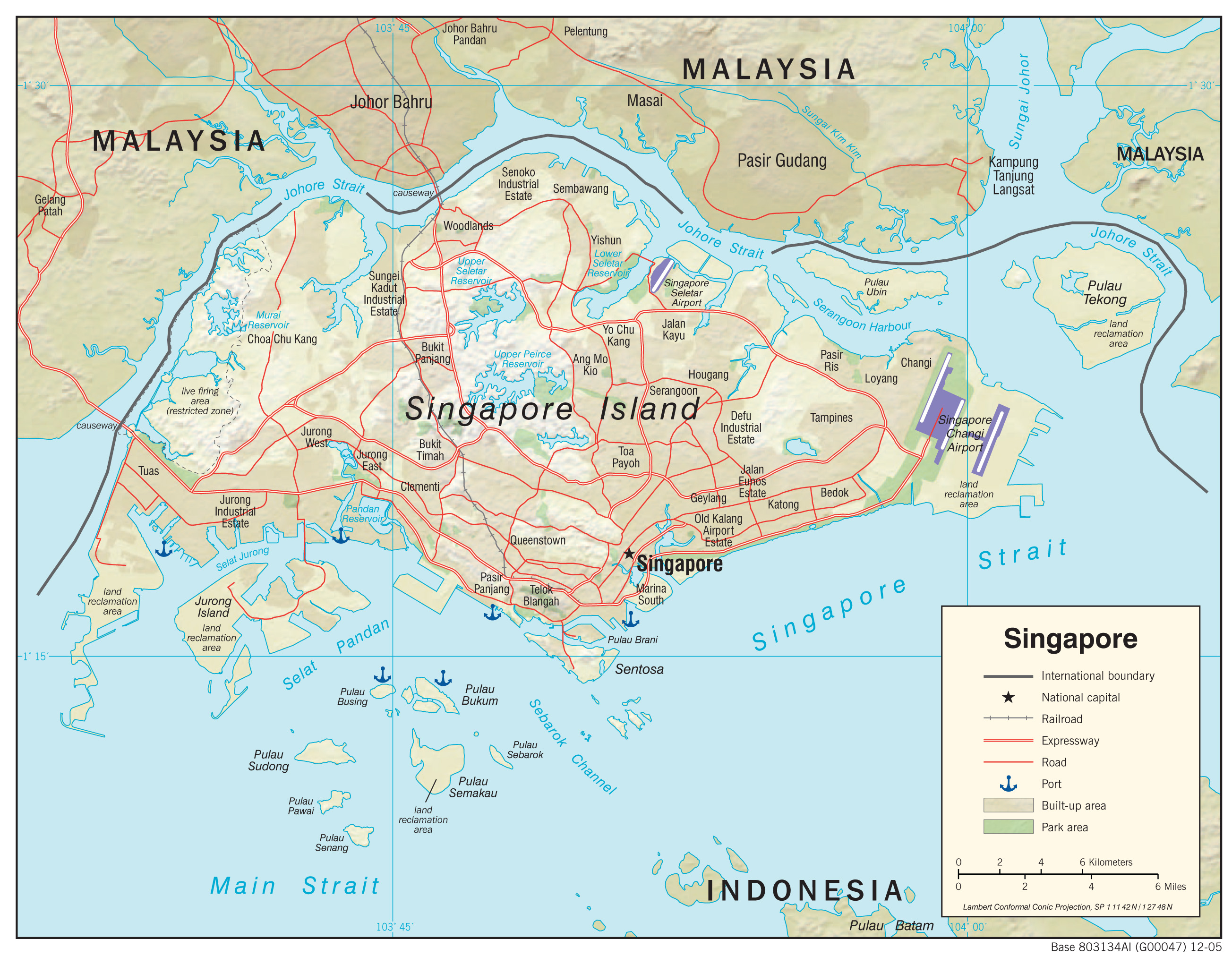 Singapore maps perry castaeda map collection ut library online singapore maps sciox Images