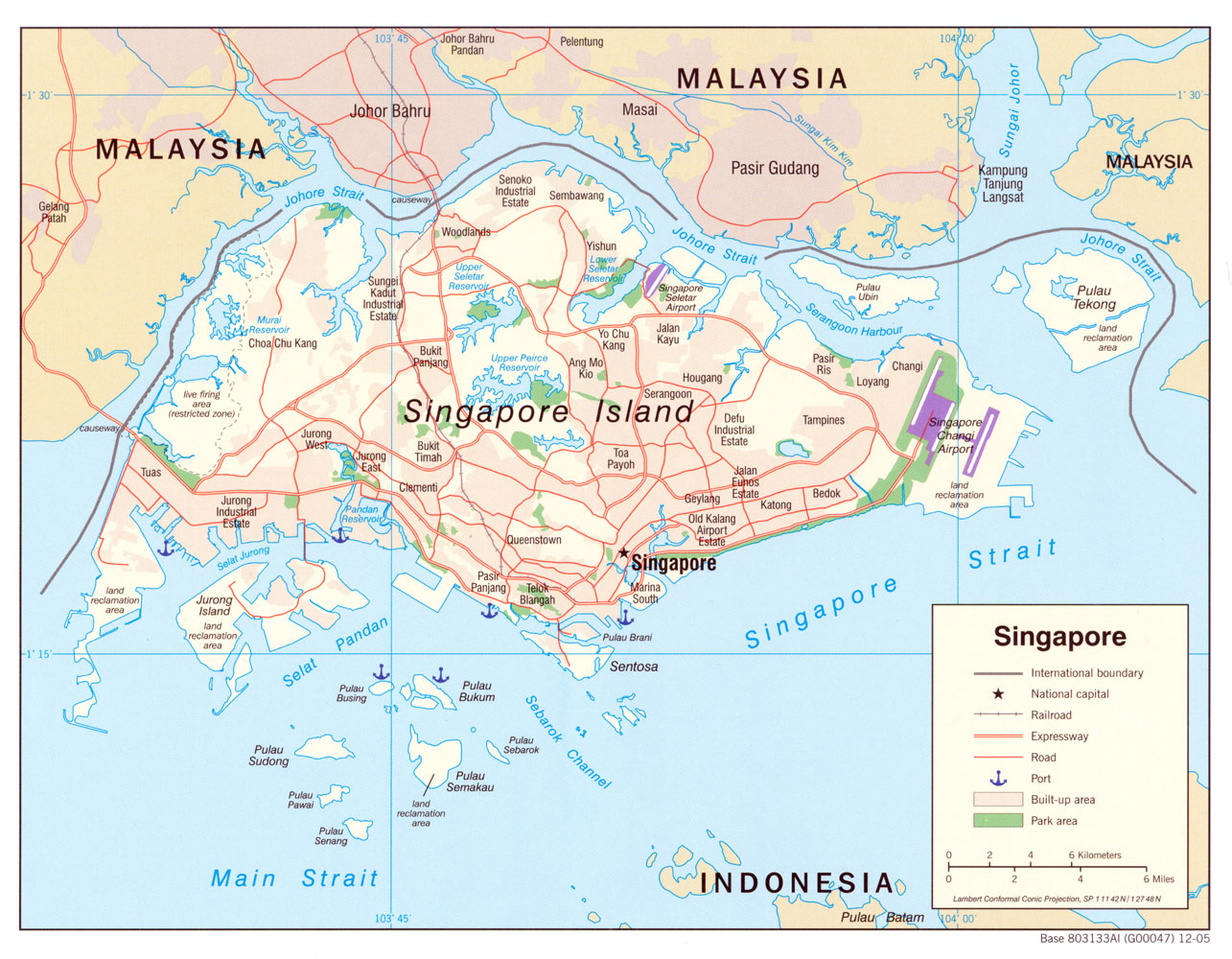 Singapore maps perry castaeda map collection ut library online singapore maps gumiabroncs Image collections
