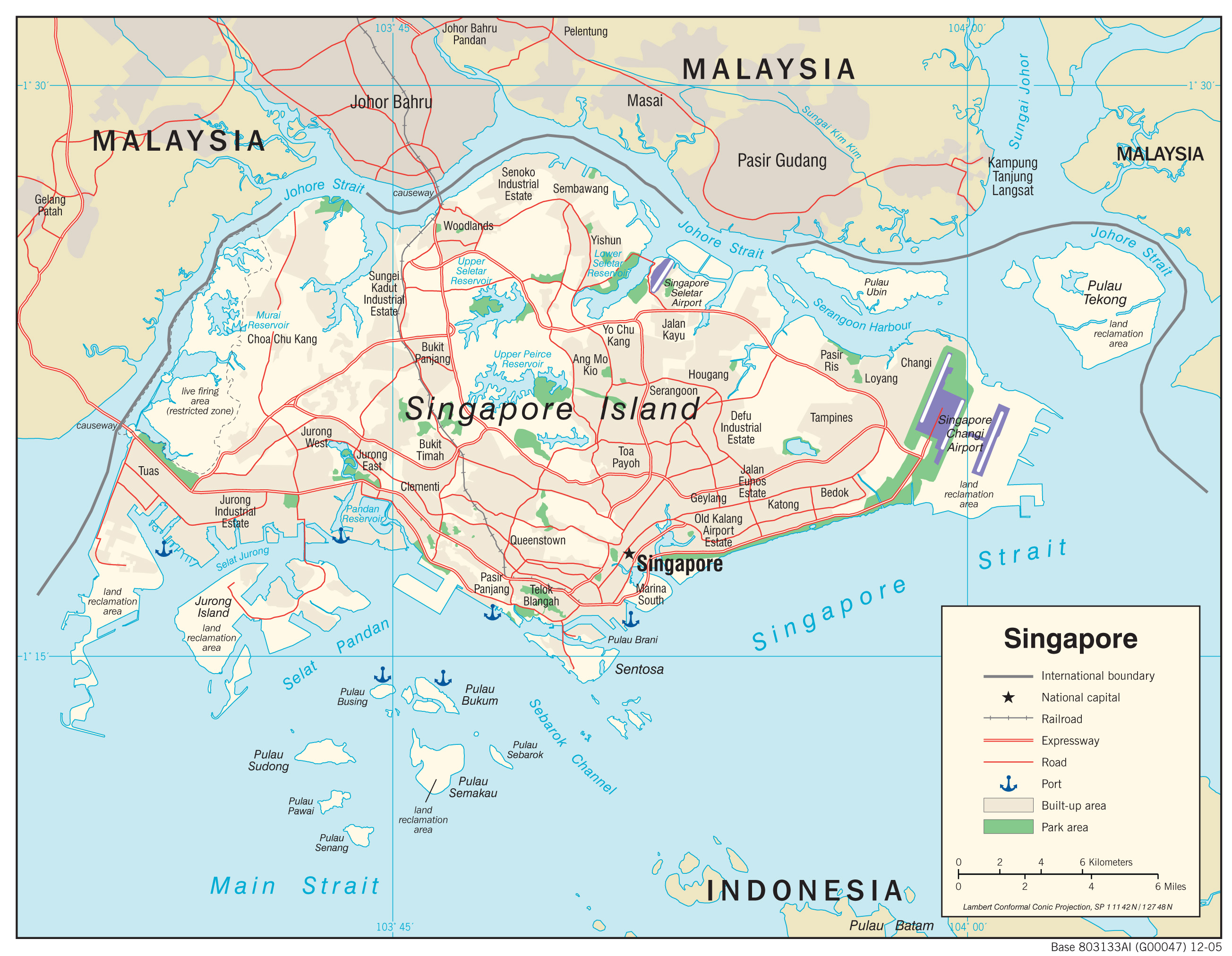 Singapore maps perry castaeda map collection ut library online singapore maps gumiabroncs Images