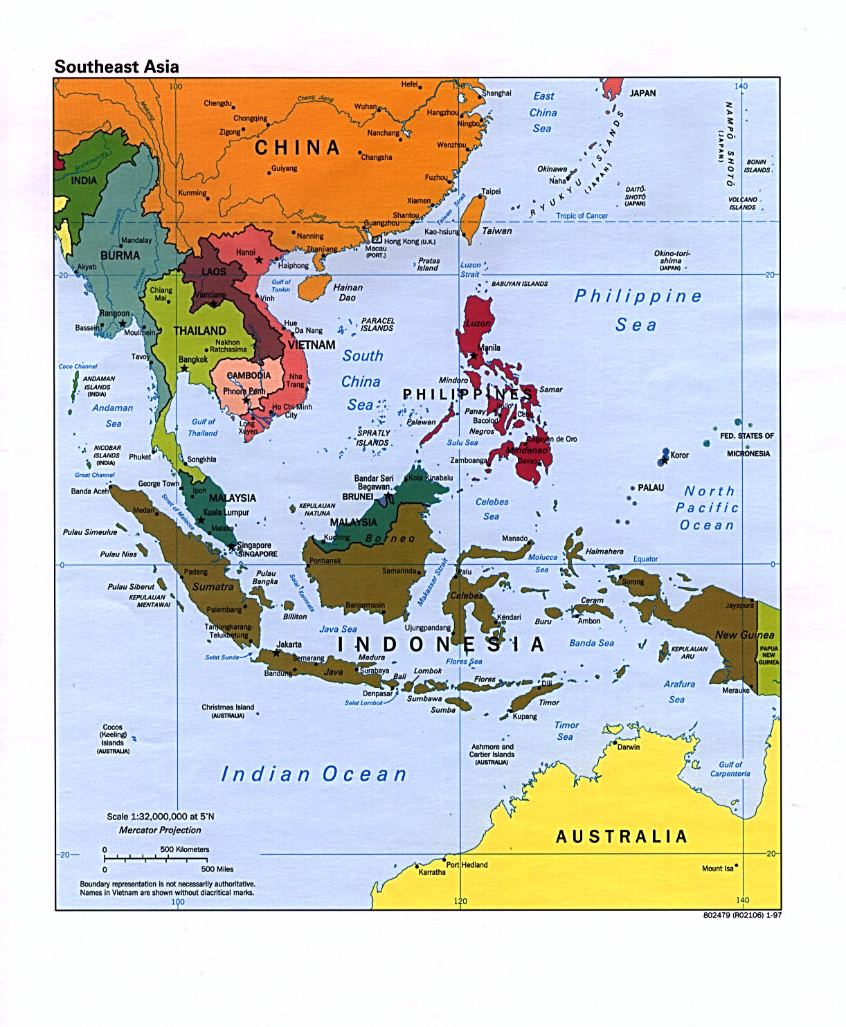 Map Of Asia Labeled With Countries.Asia Maps Perry Castaneda Map Collection Ut Library Online