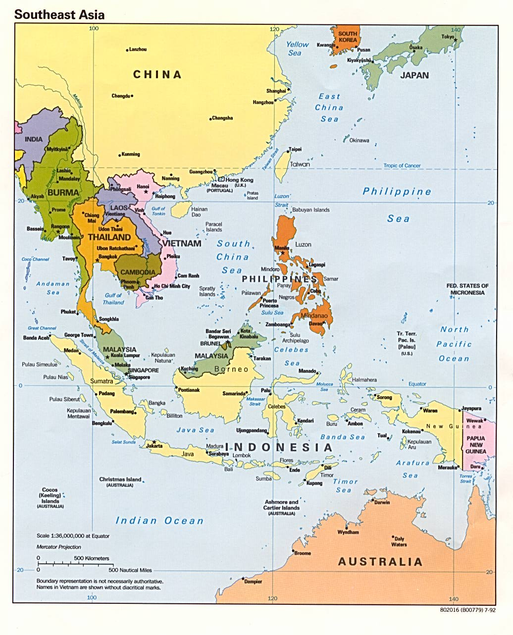 A Map Of East Asia.Asia Maps Perry Castaneda Map Collection Ut Library Online