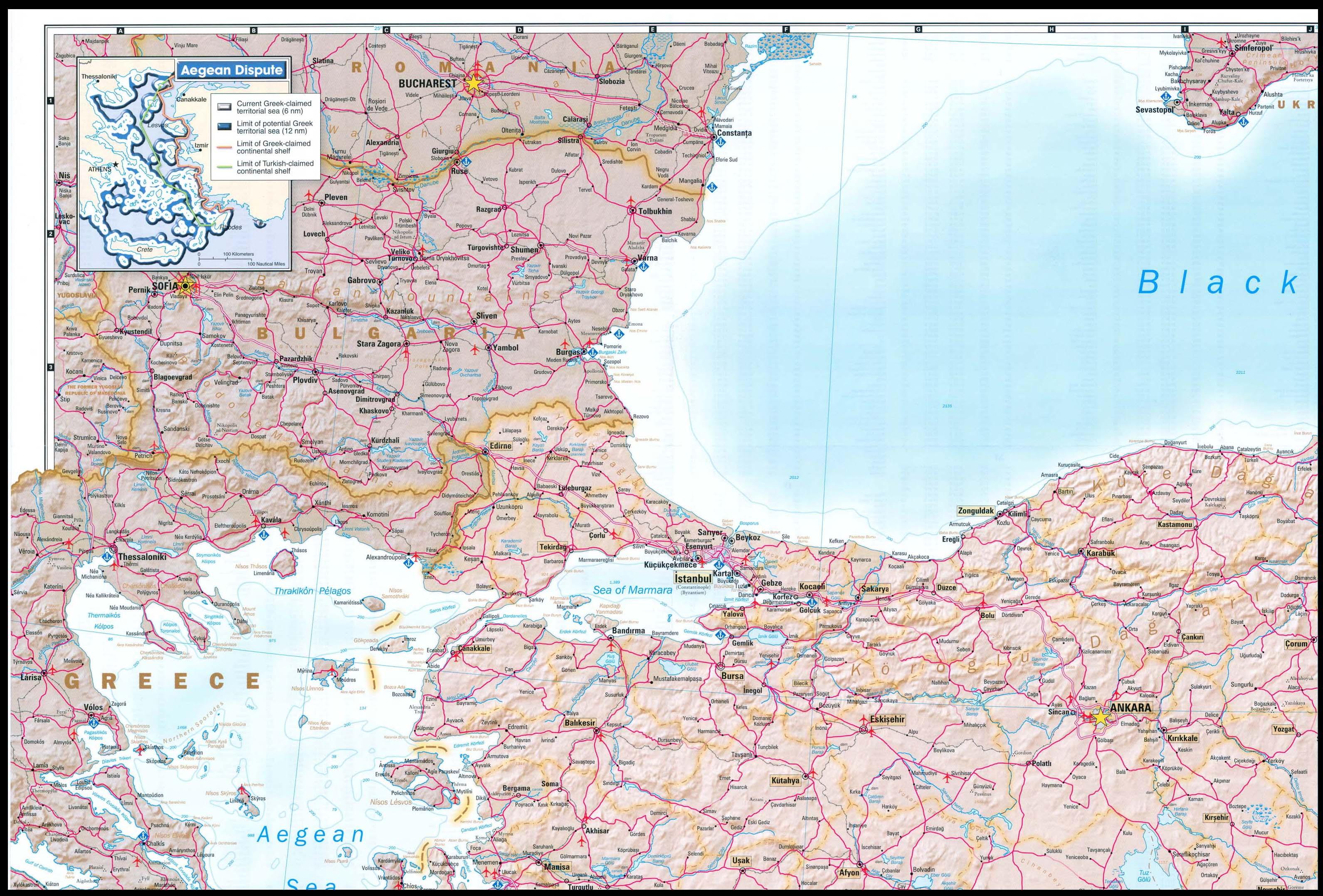 Republic of Turkey 2002 - Perry-Castañeda Map Collection - UT ...