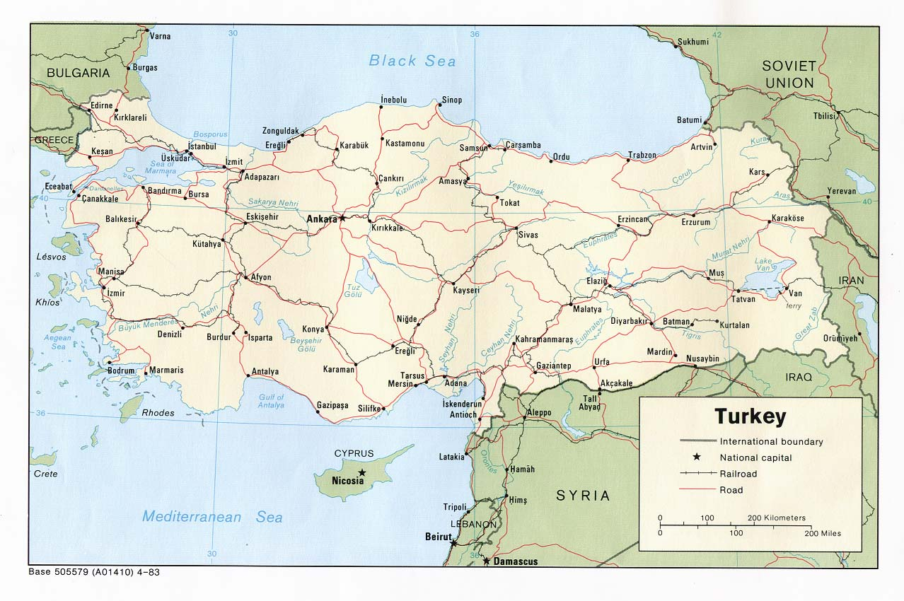Map Of Turkey A Source For All Kinds Of Maps Of Turkey - Map of turkey