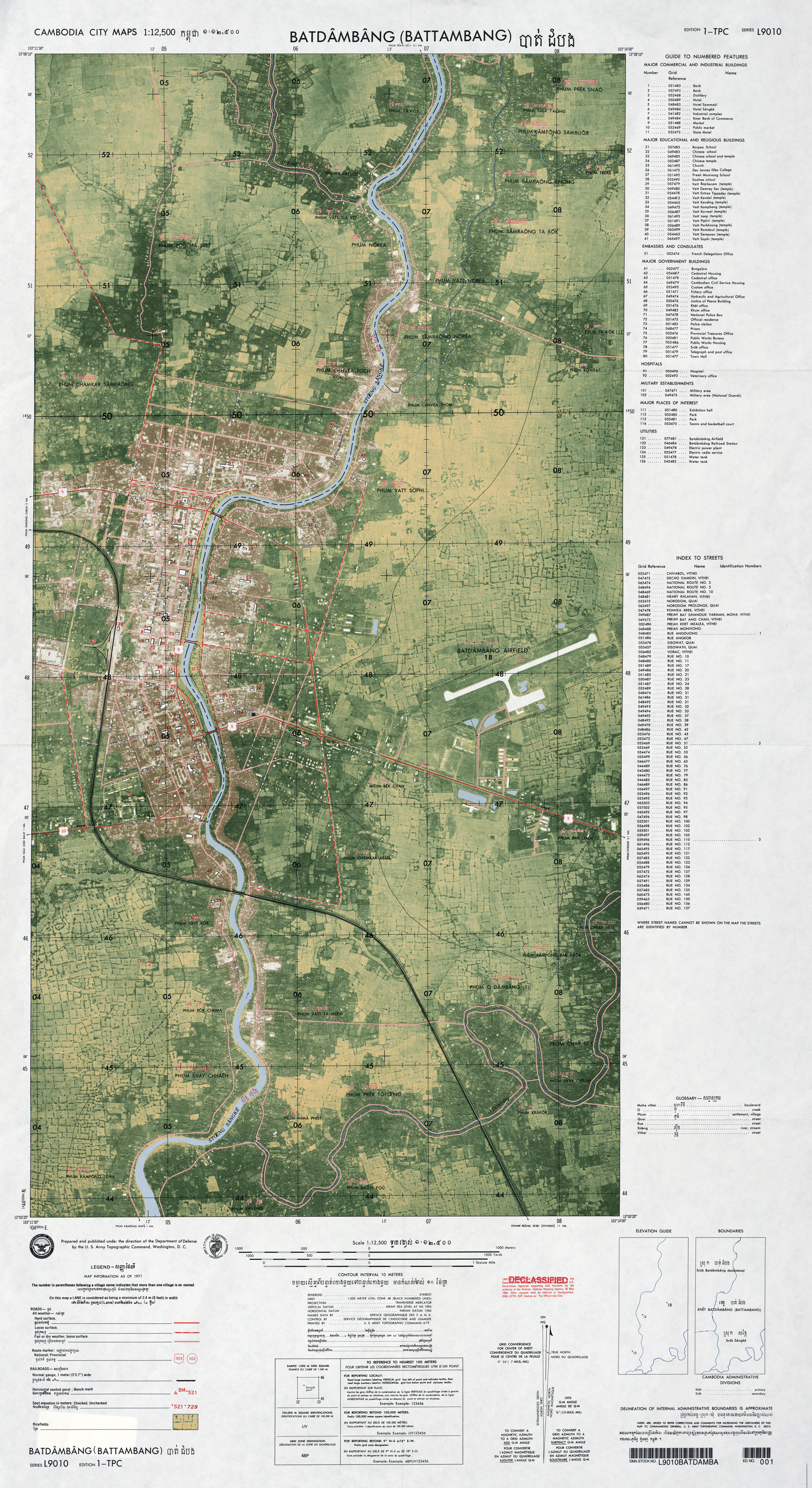 Cambodia Maps - Perry-Castañeda Map Collection - UT Library Online