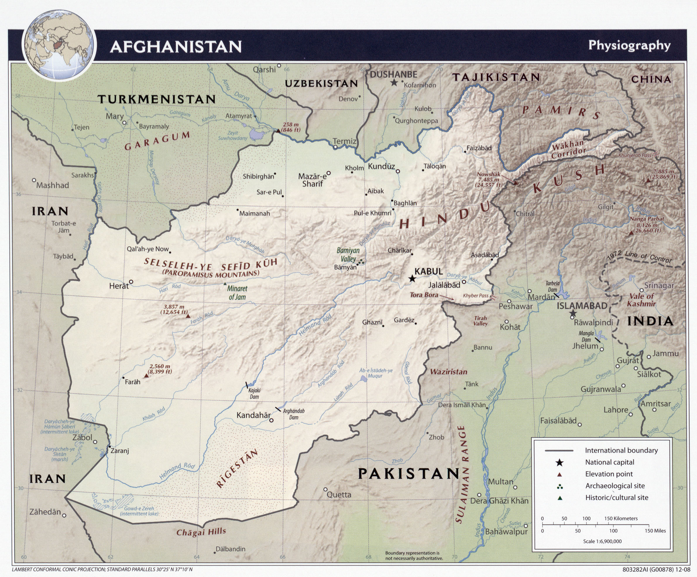 Afghanistan maps perry castaeda map collection ut library online afghanistan maps sciox Images