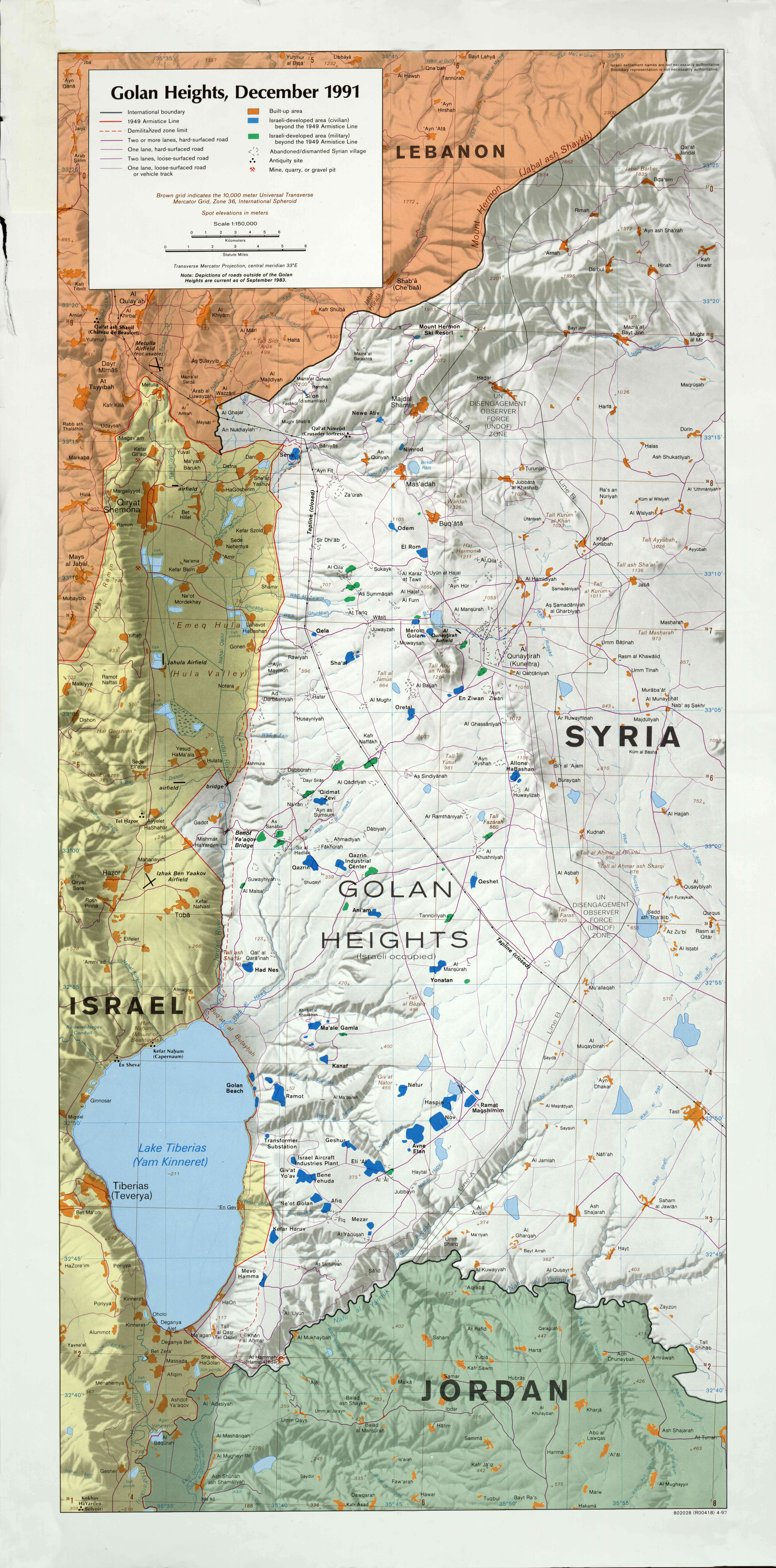 Syria Maps - Perry-Castañeda Map Collection - UT Liry Online on
