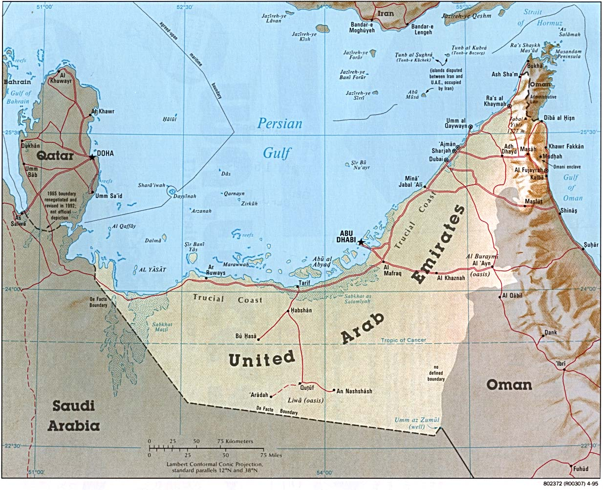 map of abu dhabi