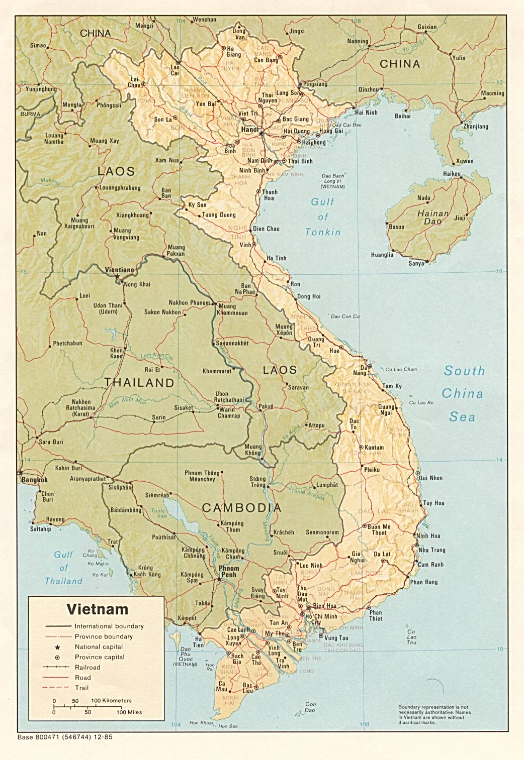 Vietnam Maps   Perry Castañeda Map Collection   UT Library Online
