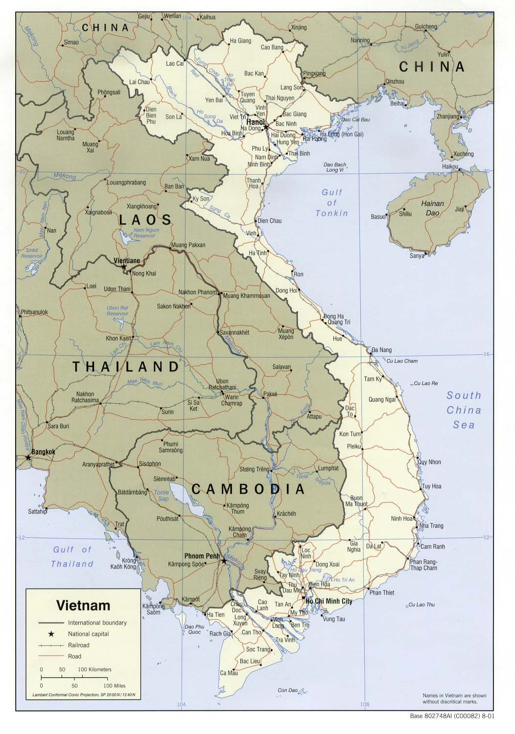 Lai Khe Vietnam Map.Vietnam Maps Perry Castaneda Map Collection Ut Library Online