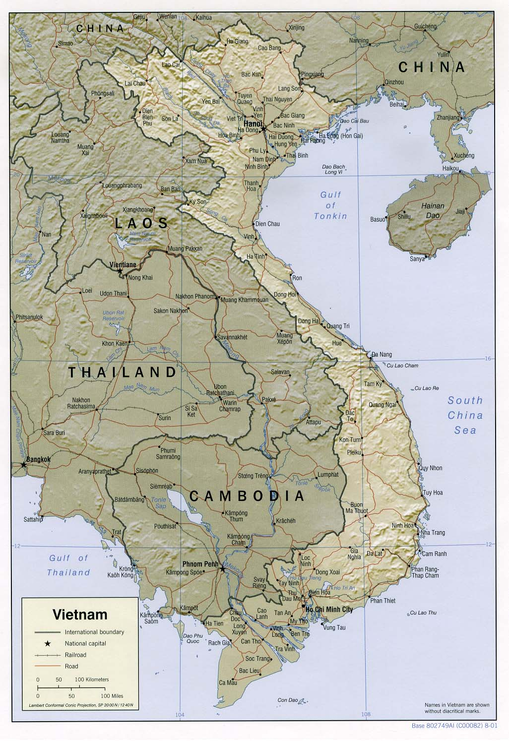 Vietnam Maps Perry Castaneda Map Collection Ut Library Online